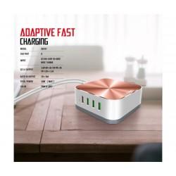 Универсално зарядно за 220V LDNIO A8101, 8 USB порта, Qualcom 3.0, 10A Output